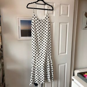 Urban Outfitters Polka Dot Maxi Dress